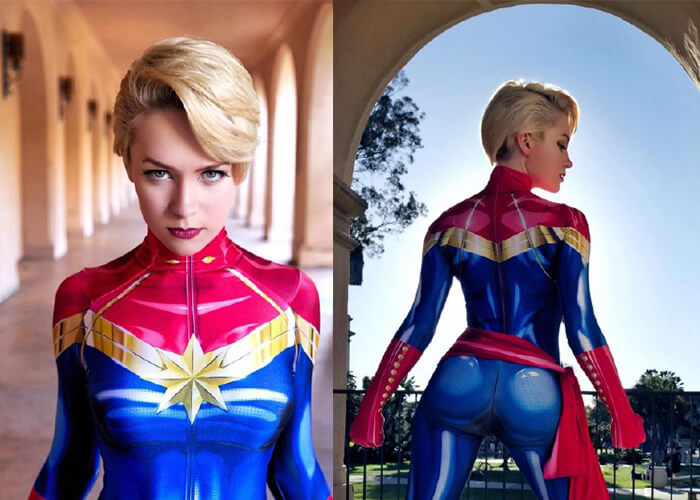 Captain Marvel Costumes of 2020